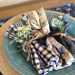 Cloth Napkins: Easy Sewing Tutorial